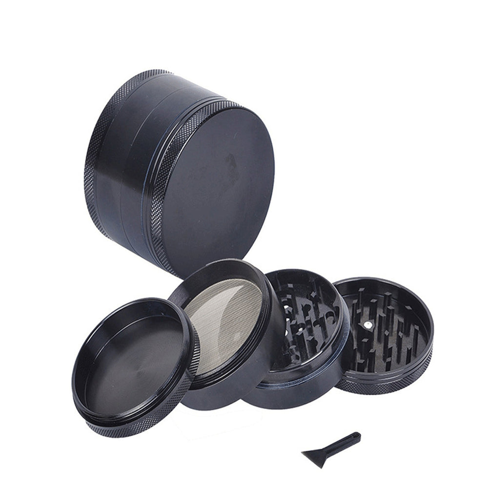 4 Layer Broken Smoke Metal Grinder