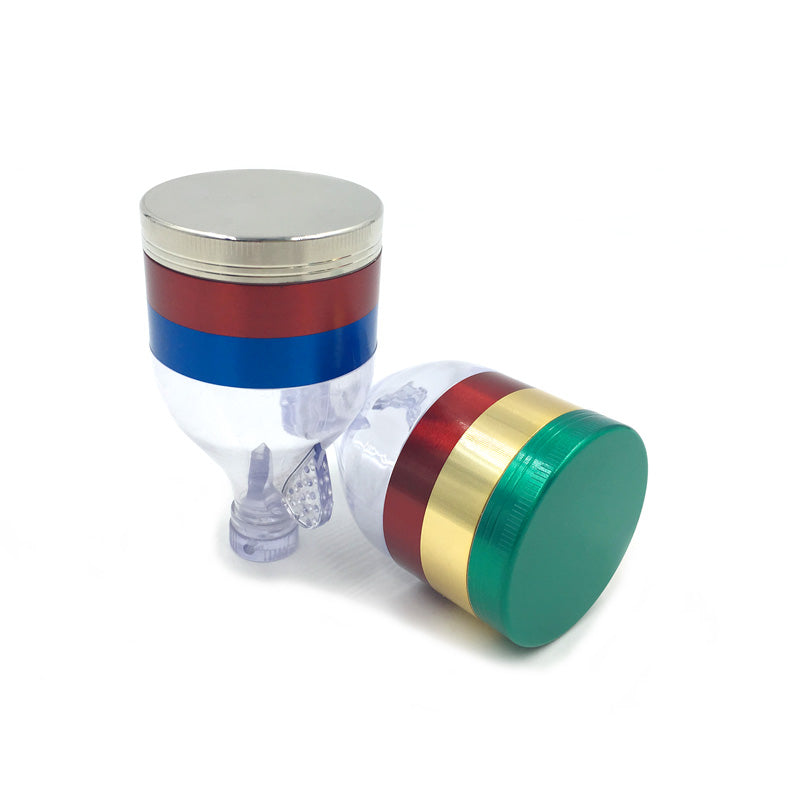 Mixed Color Funnel Herb Grinder