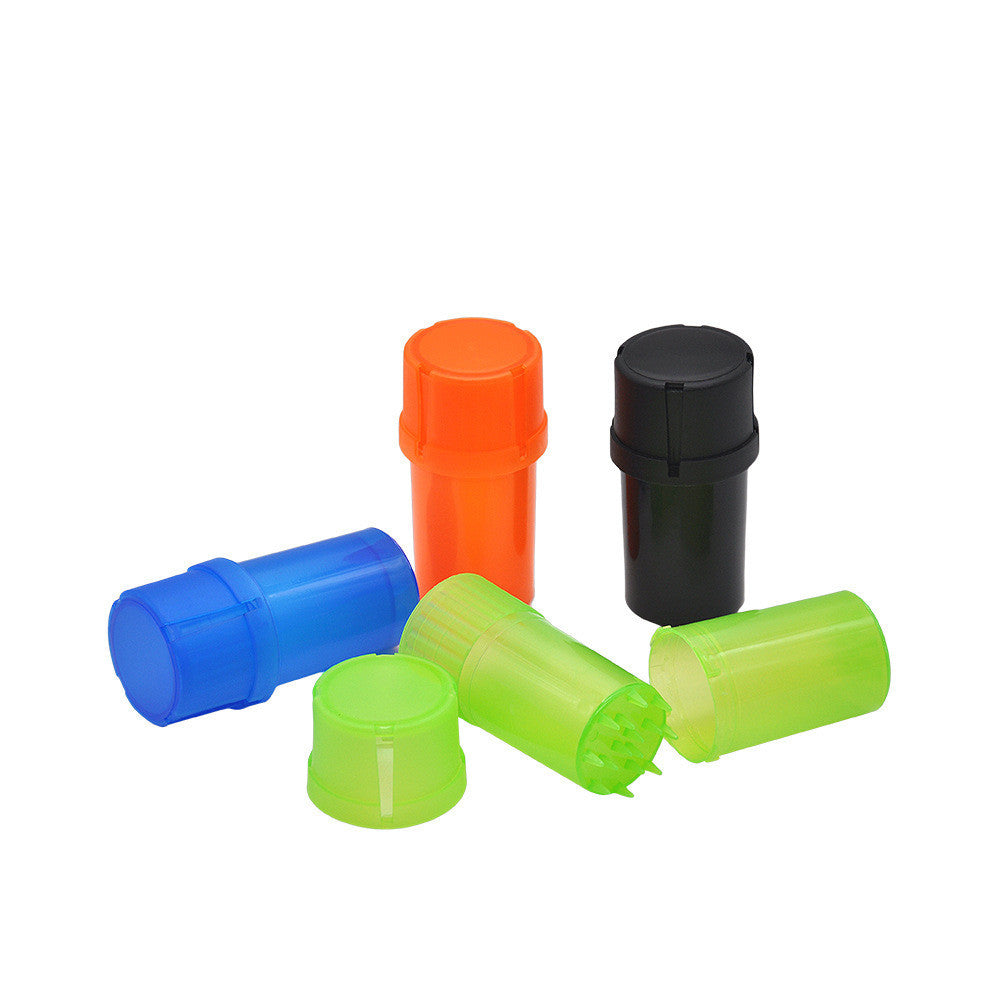 3 Parts Plastic Herb Grinder