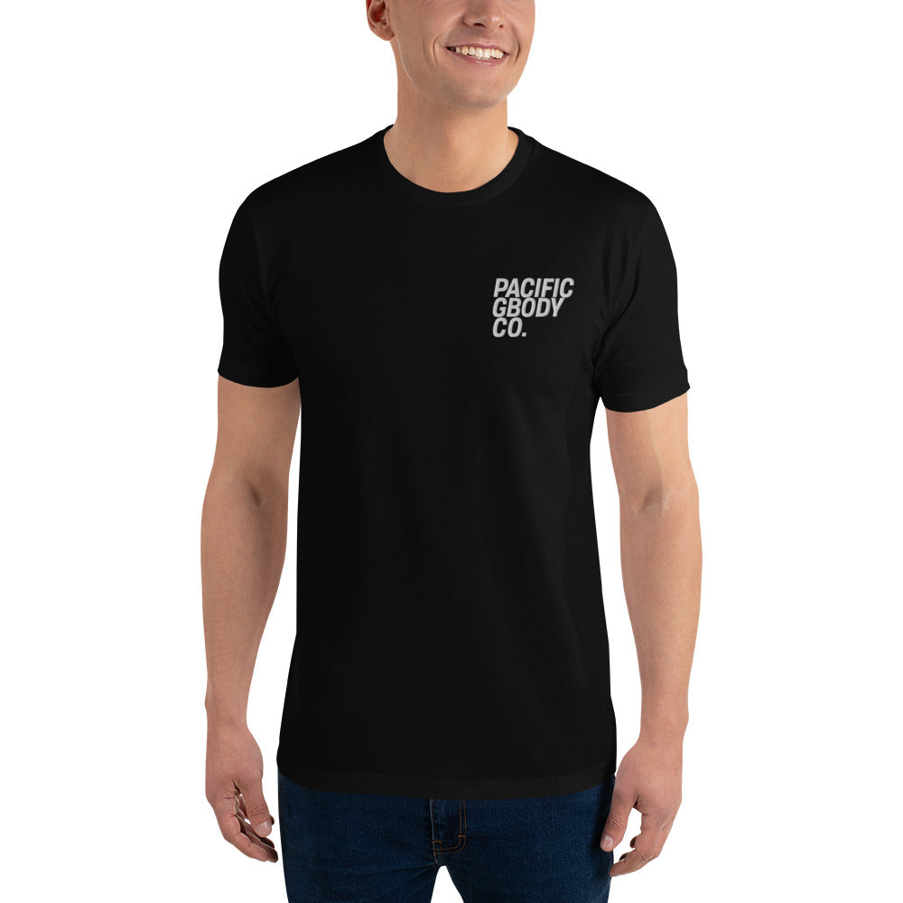 Pacific GBody Co. Short Sleeve T-shirt w/ Embroidered Logo