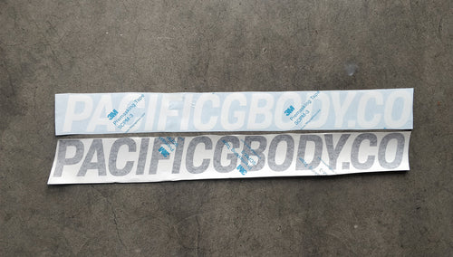 Pacific GBody Co. Large Sticker