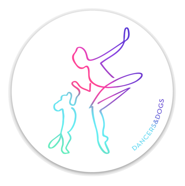 Dancers & Dogs Decal