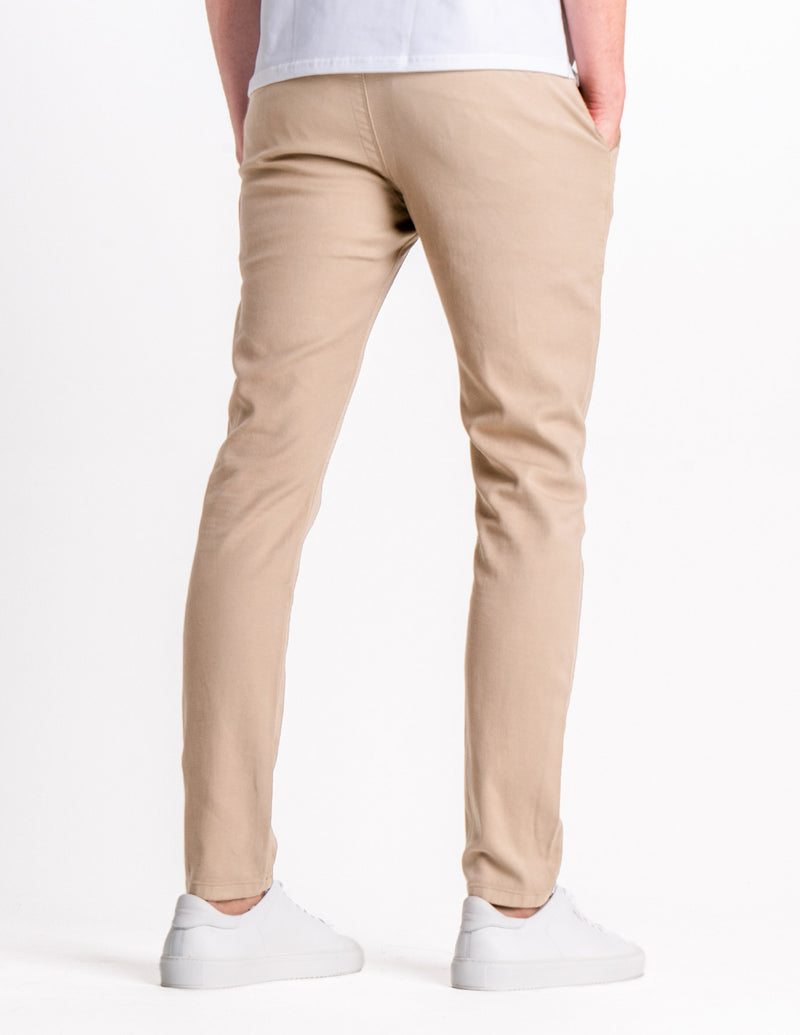 Classic Pants Slim Oxford Tan
