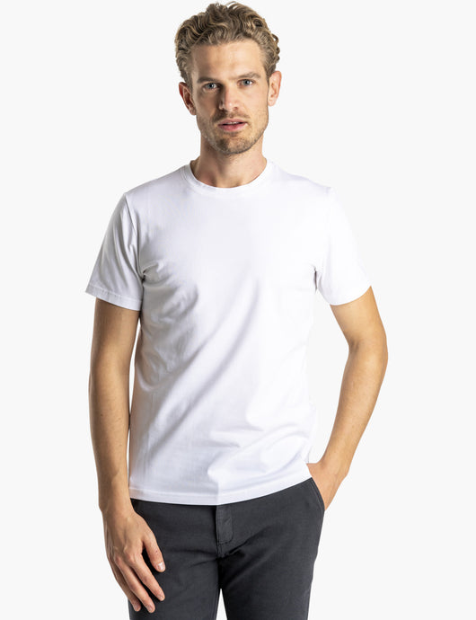 SNT Supima T-Shirt White