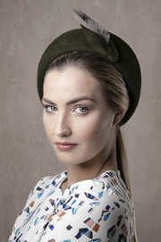 Side Sweep Beret 'Bastina' - Maggie Mowbray Millinery