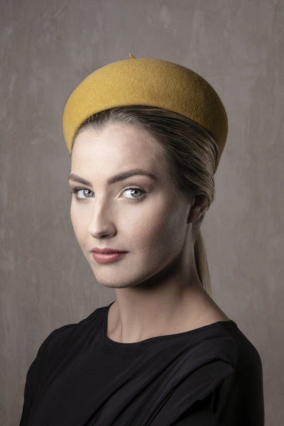Felt Pillbox hat 'Nur' - Maggie Mowbray Millinery