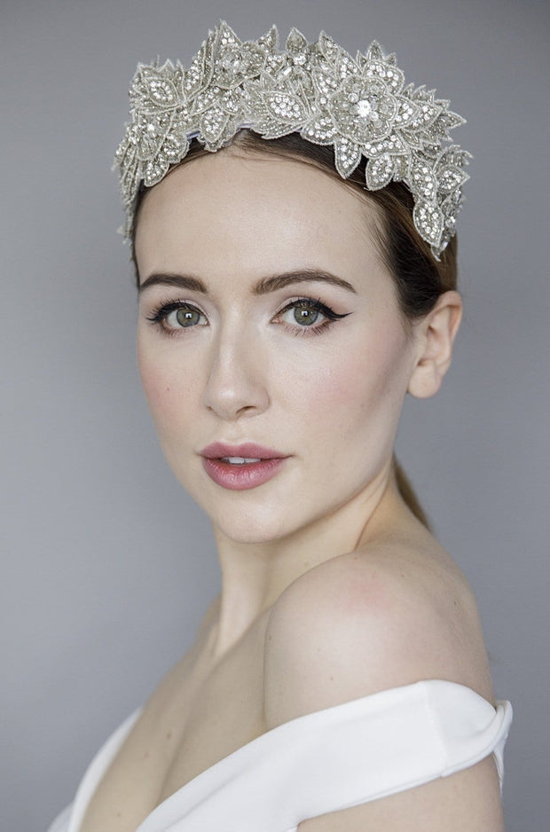Diamaté Crown Tiara - Honour - Maggie Mowbray Millinery