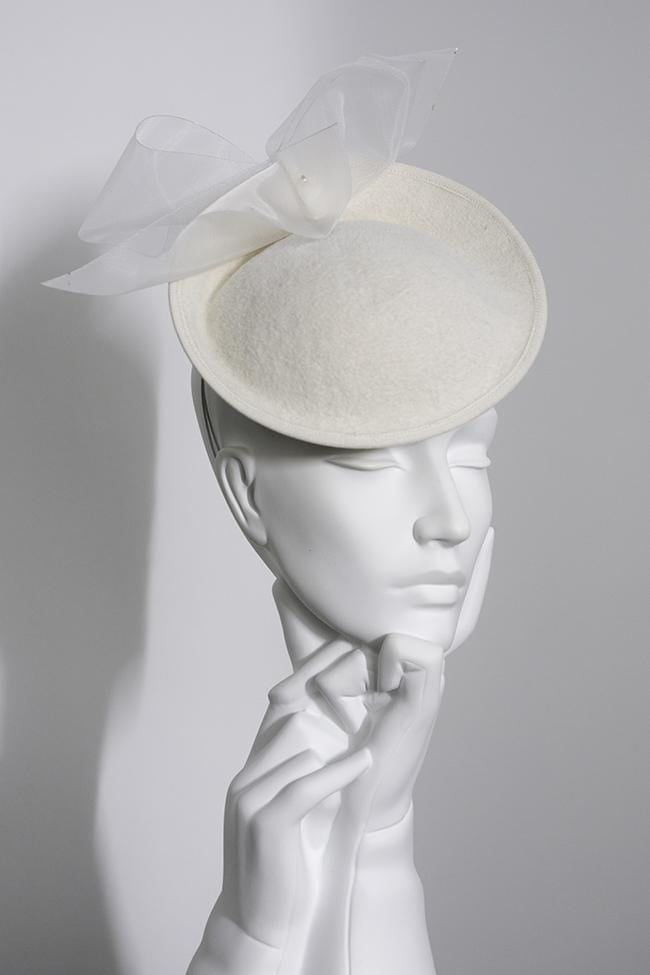 Wedding Hat - Soraya - Maggie Mowbray Millinery