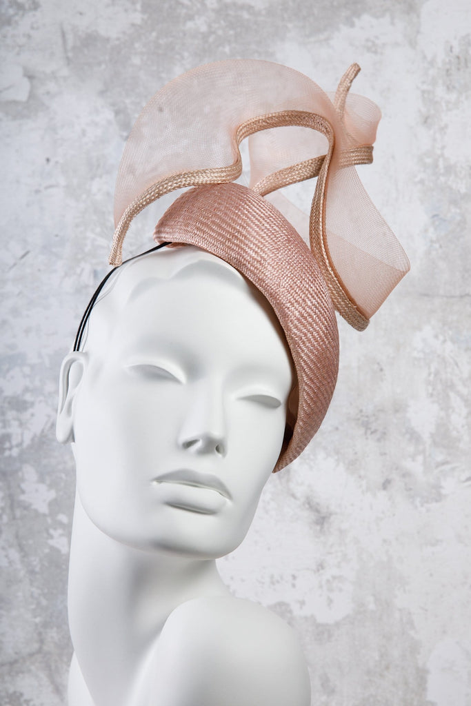 Parisisal Straw Hat with Crin Twist - Margot - Maggie Mowbray Millinery