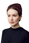 Sculpted Turban Hat - Elena - Maggie Mowbray Millinery