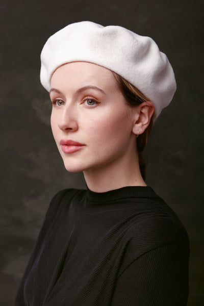 pure wool beret, gift