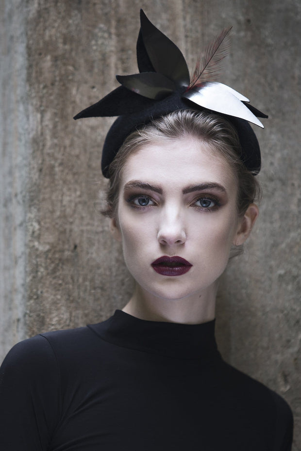 Cocktail Headband - Mia - Maggie Mowbray Millinery