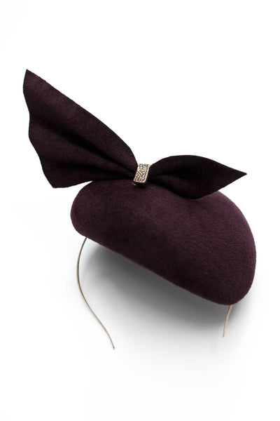 Bordeaux Cocktail Hat