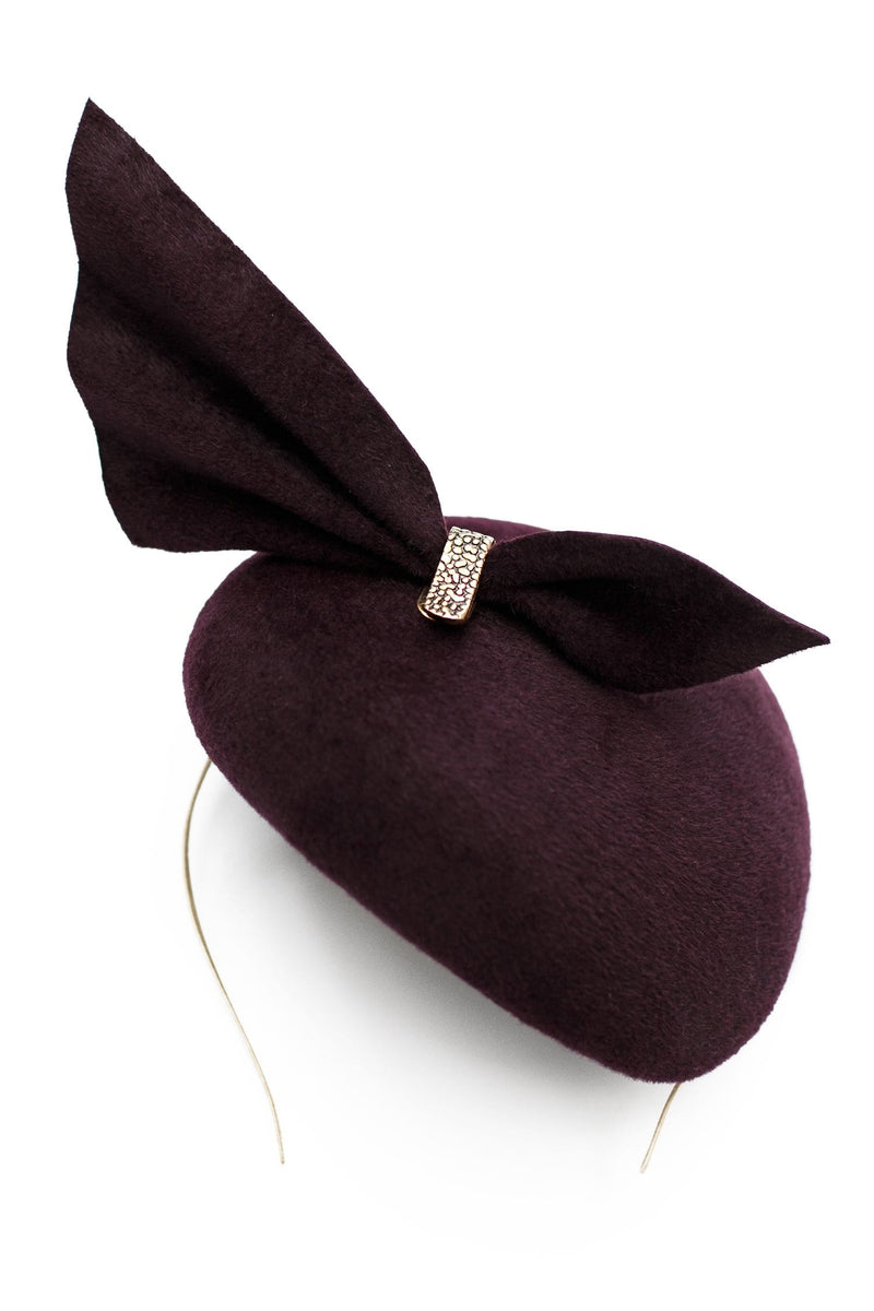 Cocktail Hat - Hazel - Maggie Mowbray Millinery
