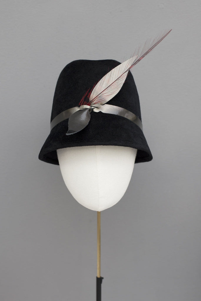 Modern Trilby - Krista - Maggie Mowbray Millinery