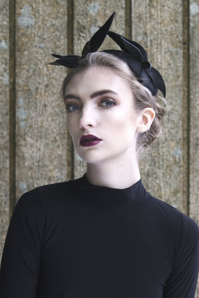Fashion Headpiece - Selki - Maggie Mowbray Millinery