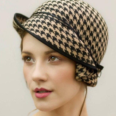 Side Sweep Cloche - Charis - Maggie Mowbray Millinery