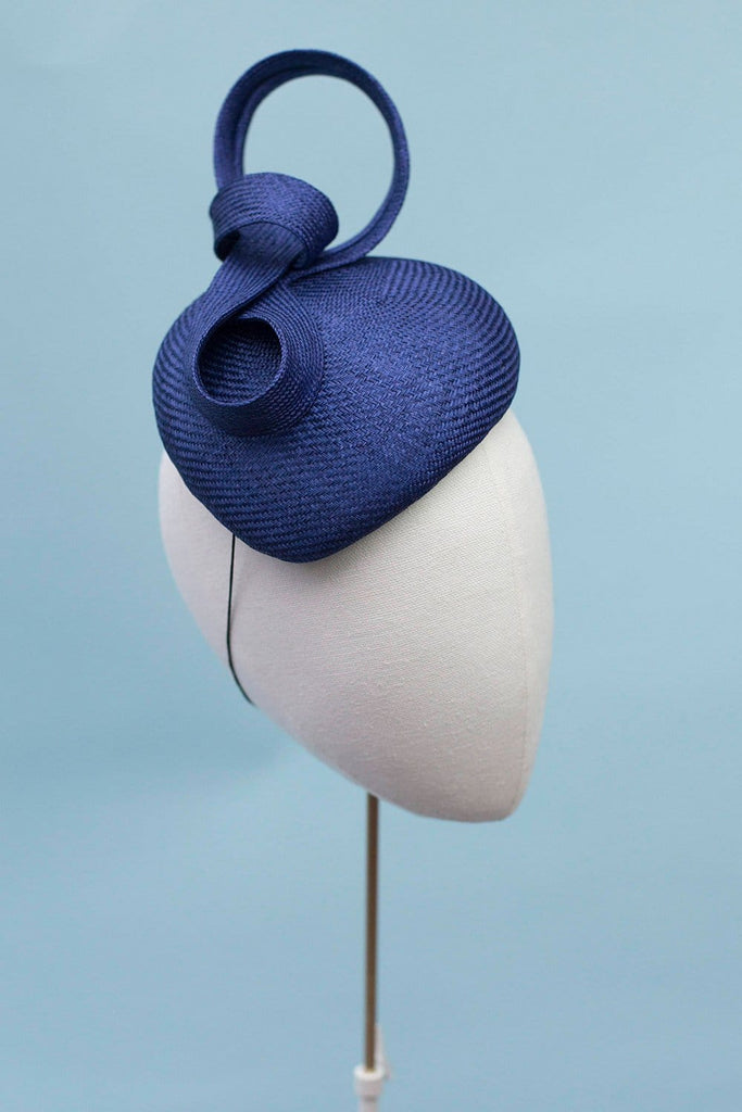 Straw Occasion Hat - Catalina - Maggie Mowbray Millinery