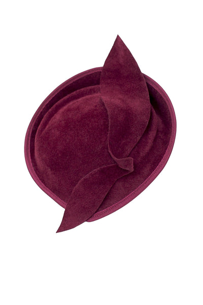 Leaf Perch Hat - Laurel - Maggie Mowbray Millinery