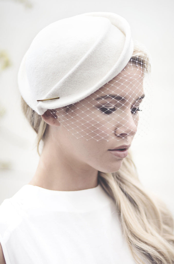 Perch Hat - Morven - Maggie Mowbray Millinery