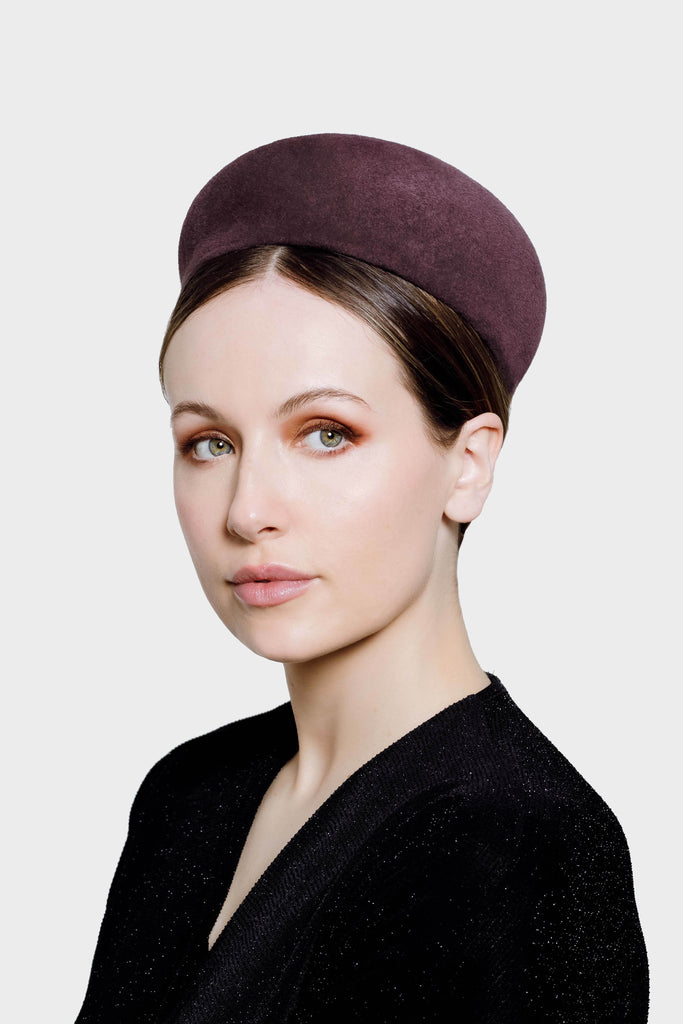 Pillbox Hat - Oakley - Maggie Mowbray Millinery