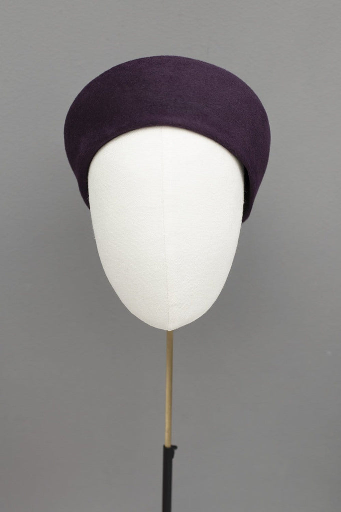 Felt Pillbox Hat - Kiki - Maggie Mowbray Millinery