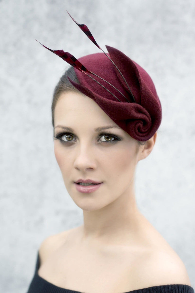 Cocktail Hat - Louisa - Maggie Mowbray Millinery
