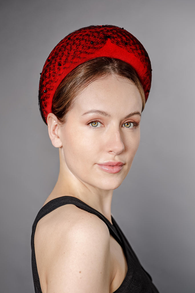 Halo Headband - Alicia - Maggie Mowbray Millinery