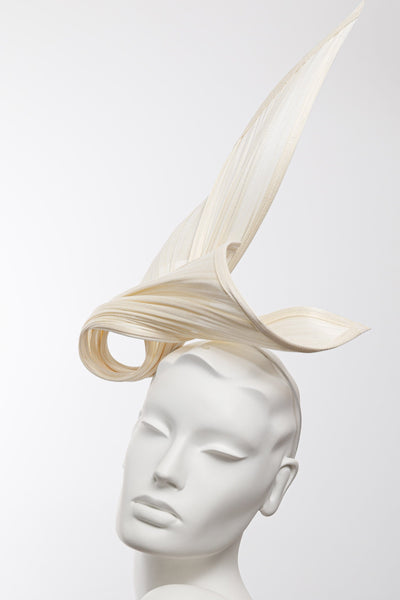Swirl Fascinator - Maggie Mowbray Millinery