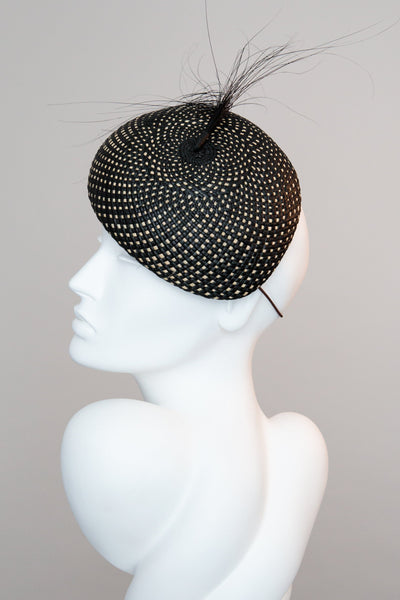 Percher Hat - Carla - Maggie Mowbray Millinery