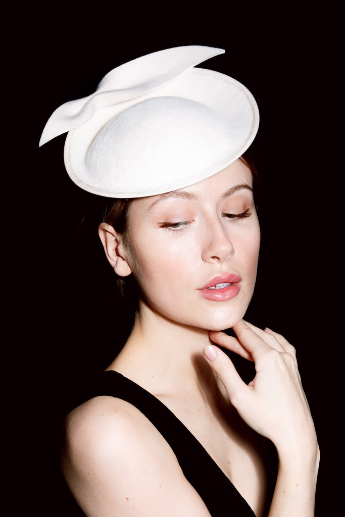Wedding Hat - Sienna - Maggie Mowbray Millinery