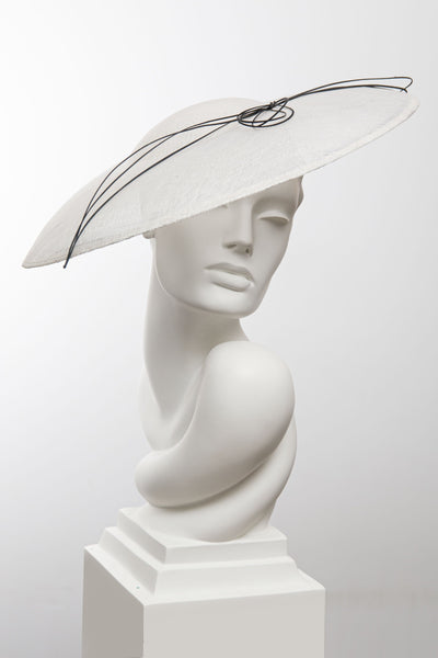 Lineaワイドブリムハット-Maggie Mowbray Millinery