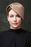 Sculpted Felt Hat - Alletta - Maggie Mowbray Millinery