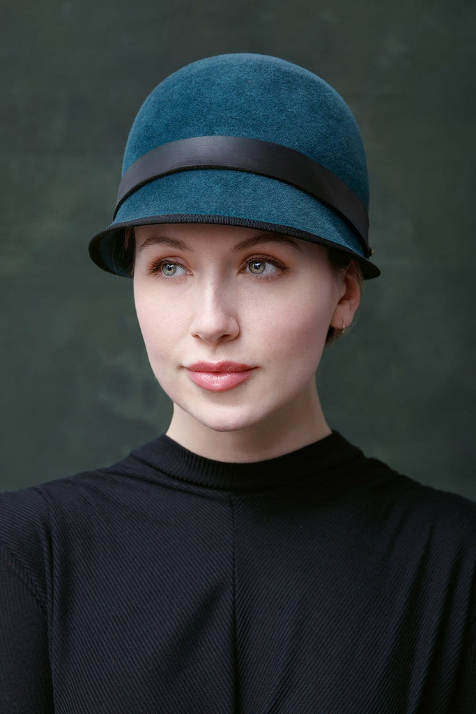 Ladies Cap - Ilya - Maggie Mowbray Millinery