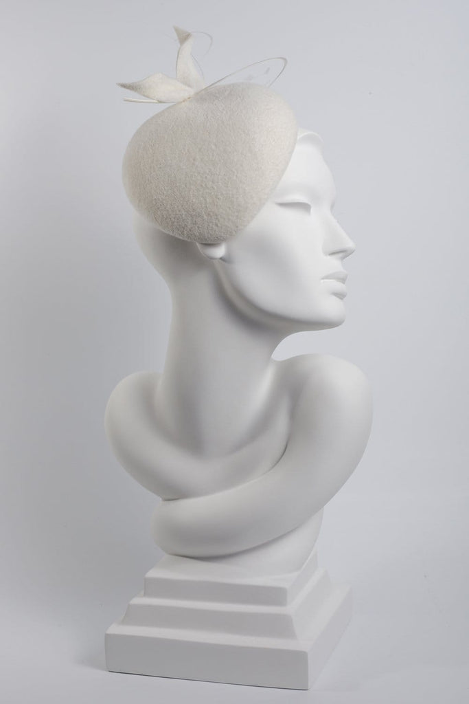 Wedding Hat - Sasha - Maggie Mowbray Millinery
