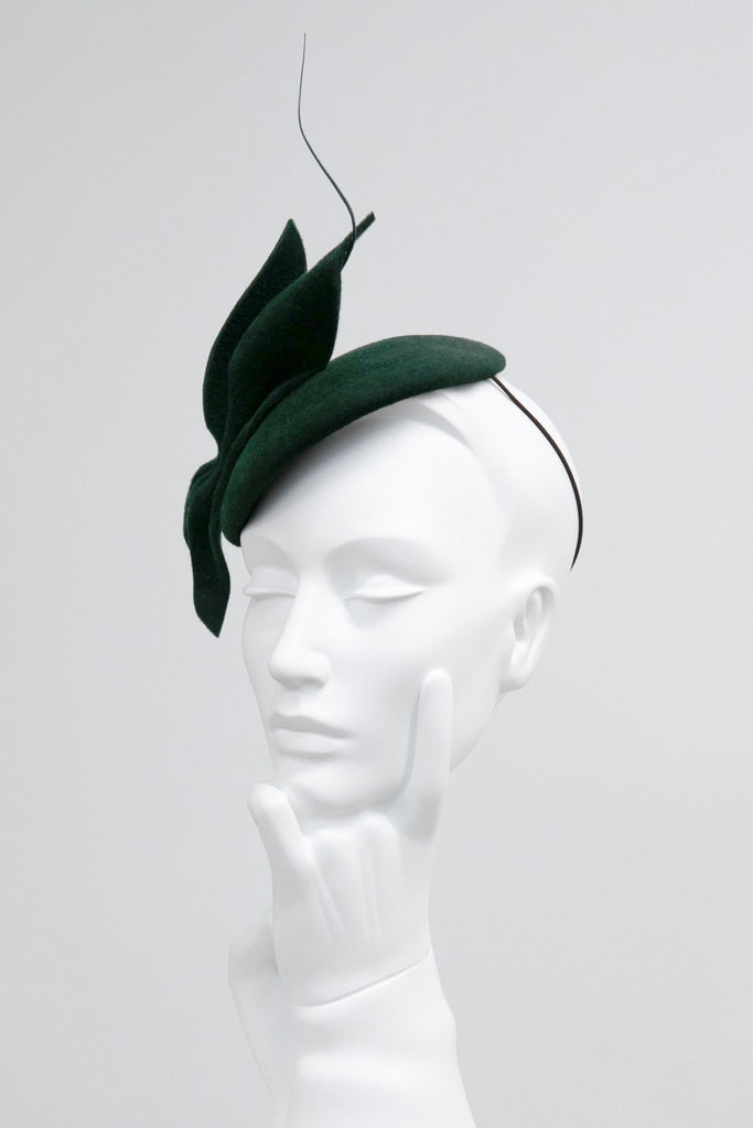 Cocktail Hat - Phoenix - Maggie Mowbray Millinery