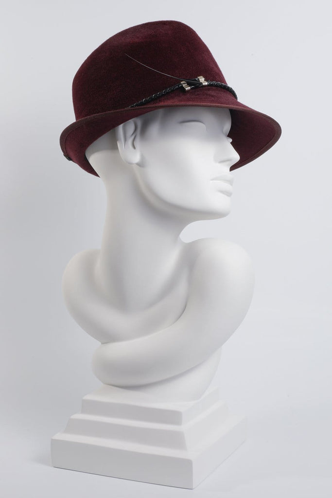 Ladies Trilby - Murni - Maggie Mowbray Millinery
