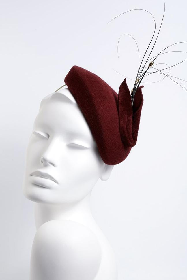 Cocktail Hat - Beatriz - Maggie Mowbray Millinery