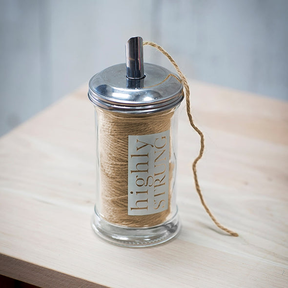 Highly Strung Jar with Natural Twine