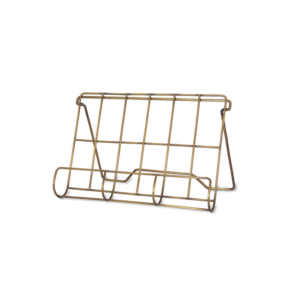 Brompton Antique Brass Cook Book Holder