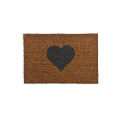 Large Heart Doormat