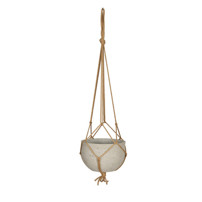 Stratton Cement Hanging Planter