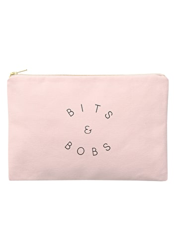 Pouch - Pink Bits & Bobs bag