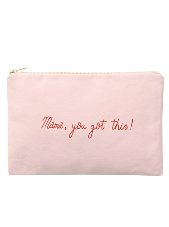 Mama, You Got This! Pink Pouch