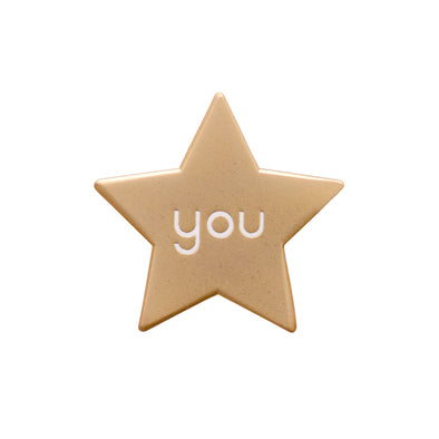 You Star Enamel Pin Badge