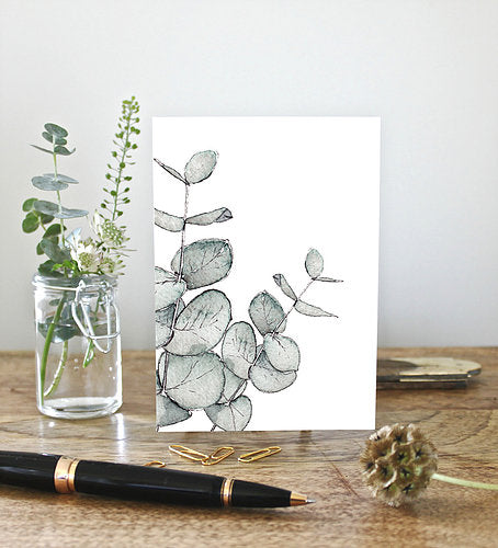 Eucalyptus Note Card