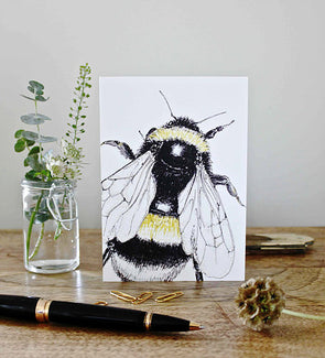 Bumblebee Note Card