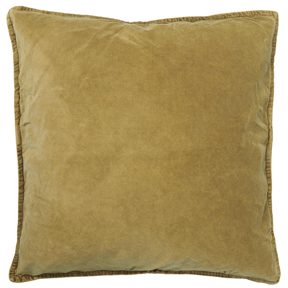 Mustard Velvet Cushion Cover