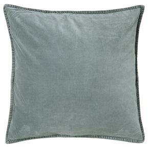 Dusty Blue Velvet Cushion Cover