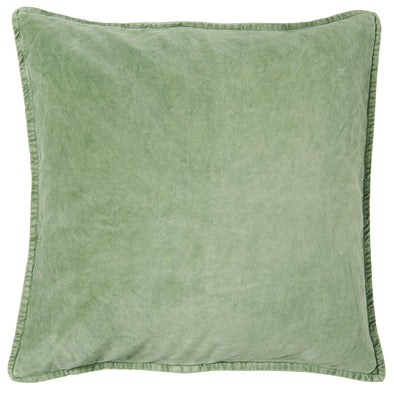 Dusty Green Velvet Cushion Cover